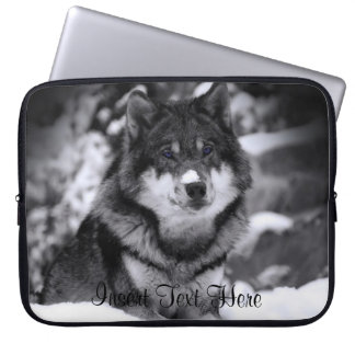 Customized Wolf Laptop Case