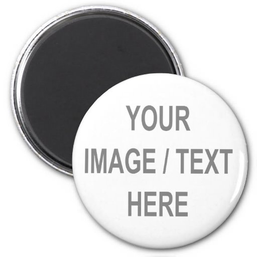 Customized Your Image-Text Here Refrigerator Magnets