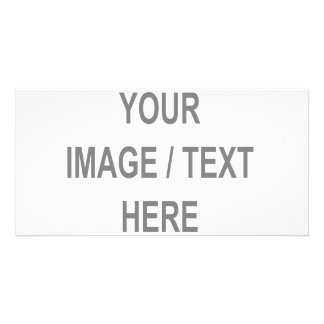Customized Your Image-Text Here Picture Card