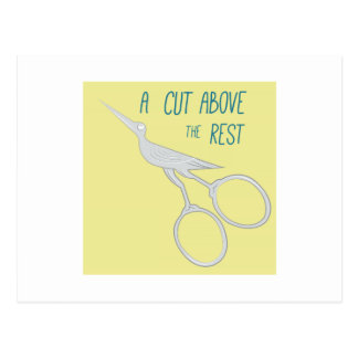 Cut Above The Rest Postcards