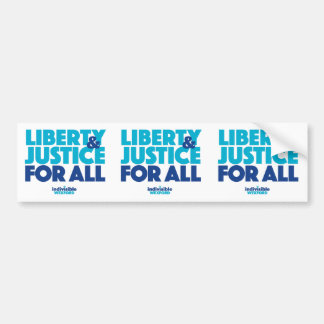 Cut-apart 3-up Justice Bumper Stickers