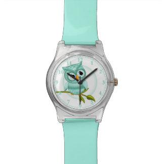 Cut Blue Owl Wrist Watch #Accessory #Watches