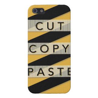 Cut Copy Paste iPhone 5/5S Case