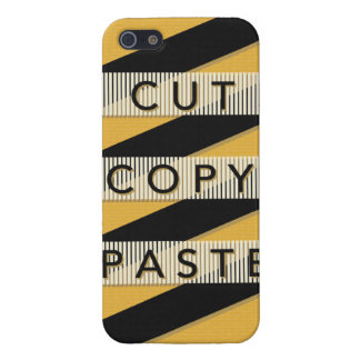 Cut Copy Paste iPhone 5/5S Case