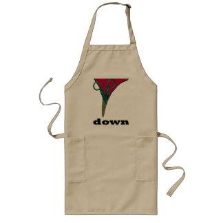 cut down long apron
