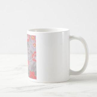 cut flowers basic white mug
