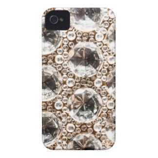 Cut Glass Beads iPhone 4 Case-Mate Cases