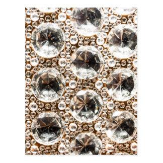Cut Glass Beads Postcard