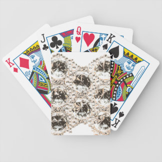 Cut Glass Crystals Bicycle Playing Cards