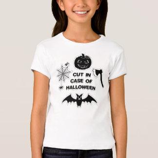 CUT in Case OF Halloween - kids shirt