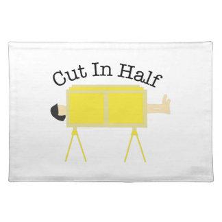 Cut In Half Cloth Placemat