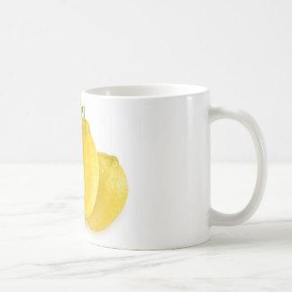 Cut lemons basic white mug