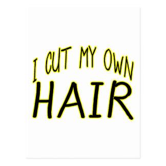 Cut My Own Hair Postcard