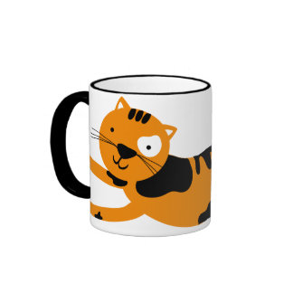 Cut Orange Cat Mug