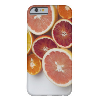 Cut Oranges on table Barely There iPhone 6 Case