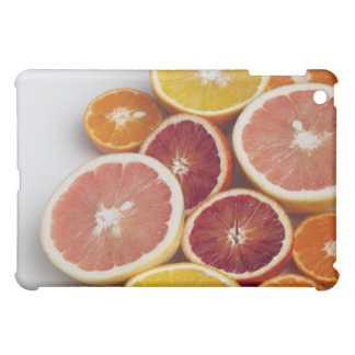 Cut Oranges on table iPad Mini Case
