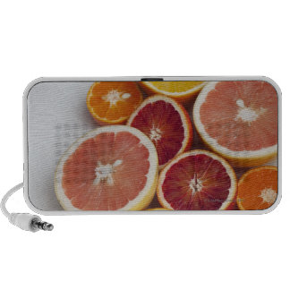 Cut Oranges on table PC Speakers