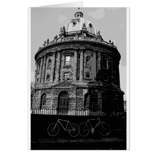 cut out radcliffe camera card