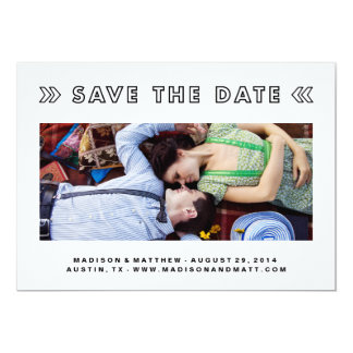 Cut Outs | Save the Date Announcement