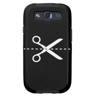 Cut Paste Pictogram Galaxy S3 Case