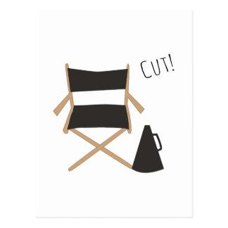 Cut! Postcard