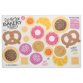 Cut & Sew Bakery Fabric - Fun DIY Plushies