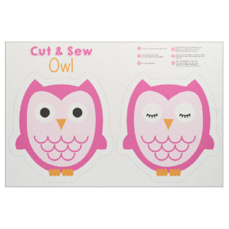 Cut & Sew Owl Fabric