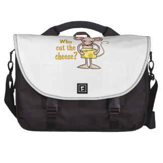 Cut The Cheese Computer Bag