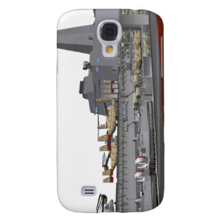 Cutaway illustration galaxy s4 case