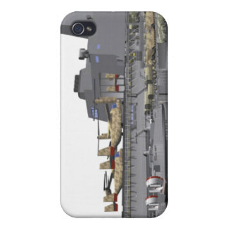 Cutaway illustration iPhone 4 covers