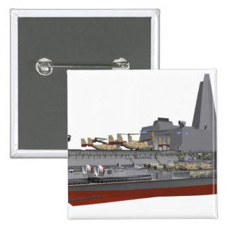 Cutaway illustration pins