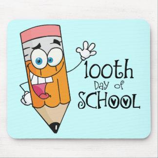 Cute 100th Day Of School Cartoon Gift Mousepad