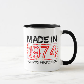 Cute 1974 Aged to perfection coffee mug