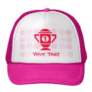 Cute 1st Place Trophy Trucker Hats