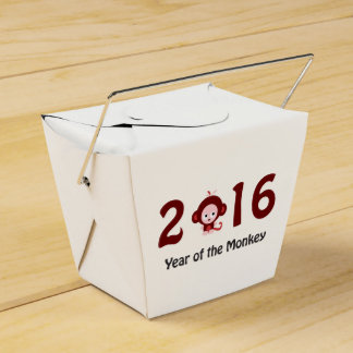 Cute 2016 year of the monkey favour box