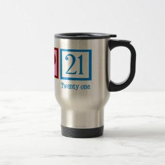 Cute 21st Birthday Travel Mug