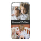 Cute 2 Photo Personalised Kids iPhone 8 7 Case