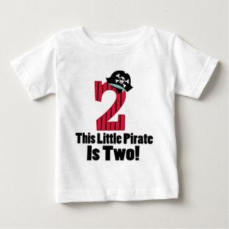 Cute 2nd Birthday Pirate Shirts