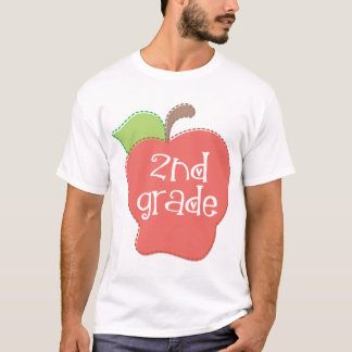 Cute 2nd Grade Apple T-Shirt