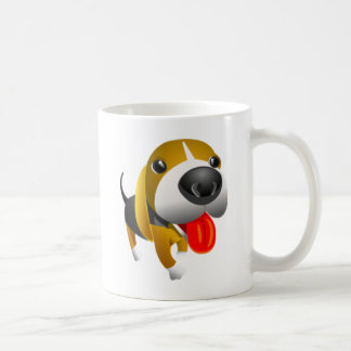 Cute 3d Basset Hound Dog Coffee Mug