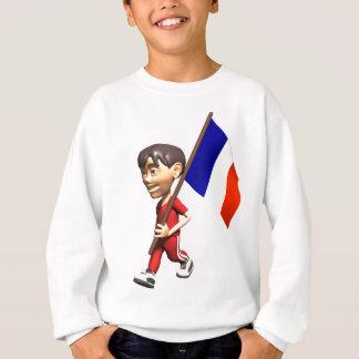 Cute 3D France Sweatshirt