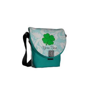 Cute 4 Leaf Clover Courier Bags