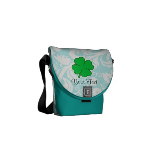 Cute 4 Leaf Clover Courier Bags