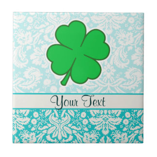Cute 4 Leaf Clover Tile