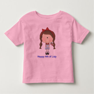 Cute 4th of July T-shirt for that cute little girl