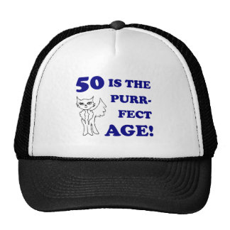 Cute 50th Birthday Present Cap
