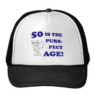 Cute 50th Birthday Present Mesh Hats