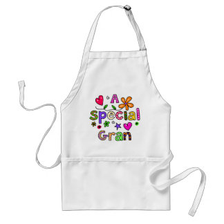 Cute A Special Gran Greeting Text Expression Standard Apron