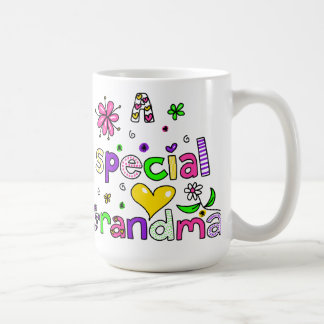 Cute A Special Grandma Granny Text Expression Coffee Mug