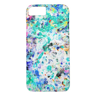 Cute abstract colorful painting iPhone 8/7 case
